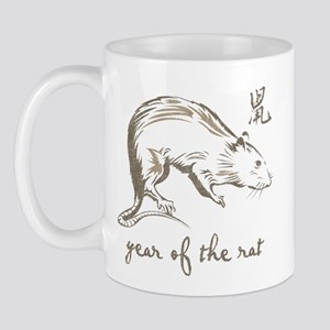 Vintage Year Of The Rat Mug
