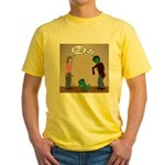 Pet Zombies Yellow T-Shirt