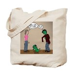 Pet Zombies Tote Bag