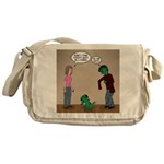 Pet Zombies Messenger Bag