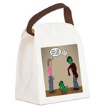 Pet Zombies Canvas Lunch Bag