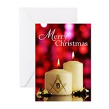 Masonic christmas Greeting Cards (20 Pack)