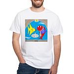 Fish Fashion White T-Shirt