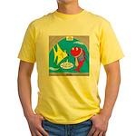Fish Fashion Yellow T-Shirt
