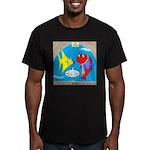 Fish Fashion Men's Fitted T-Shirt (dark)