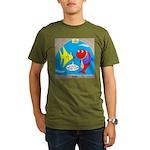 Fish Fashion Organic Men's T-Shirt (dark)