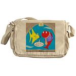 Fish Fashion Messenger Bag