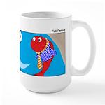 Fish Fashion Large Mug