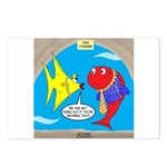 Fish Fashion Postcards (Package of 8)