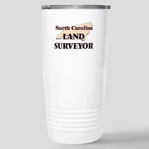 North Carolina Land Sur Stainless Steel Travel Mug