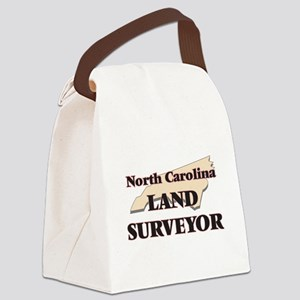 North Carolina Land Surveyor Canvas Lunch Bag