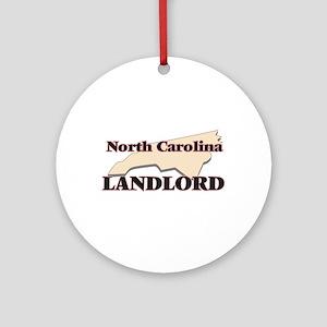 North Carolina Landlord Round Ornament