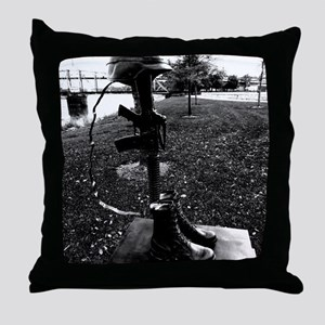 Some gave all. Throw Pillow