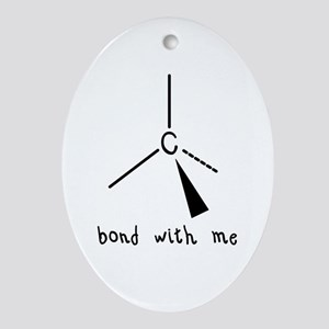 Bond with Me Oval Ornament