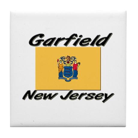 Garfield New Jersey Tile Coaster