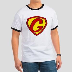 Super G Logo Costume 05 Ringer T