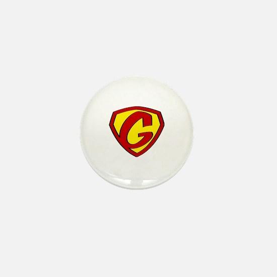 Super G Logo Costume 05 Mini Button