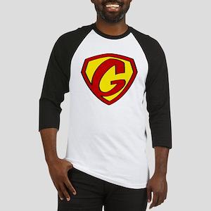 Super G Logo Costume 05 Baseball Jersey
