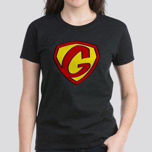 Super G Logo Costume 05 Women's Dark T-Shirt