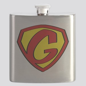 Super G Logo Costume 05 Flask