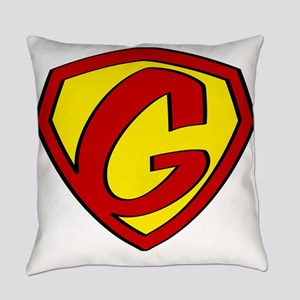 Super G Logo Costume 05 Everyday Pillow