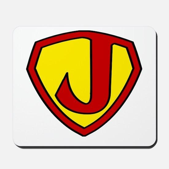 Super J Logo Costume 05 Mousepad