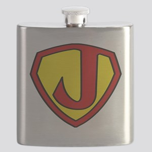 Super J Logo Costume 05 Flask