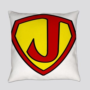 Super J Logo Costume 05 Everyday Pillow