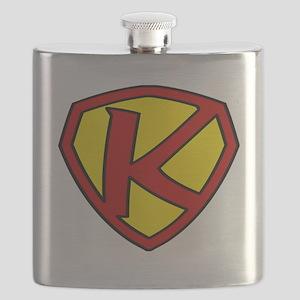 Super K Logo Costume 05 Flask
