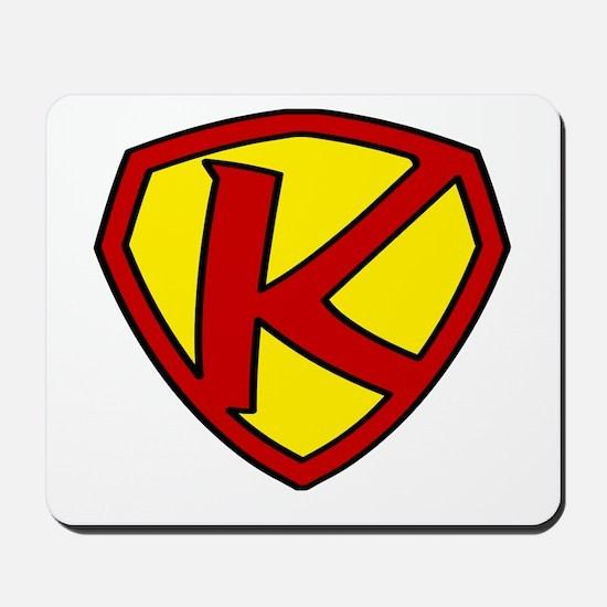 Super K Logo Costume 05 Mousepad