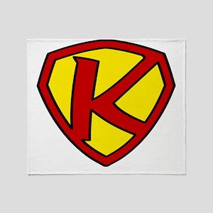 Super K Logo Costume 05 Throw Blanket