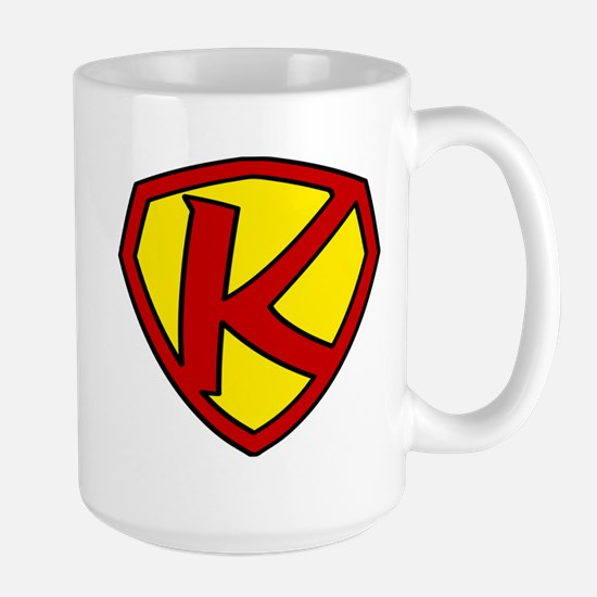 Super K Logo Costume 05 Large Mug