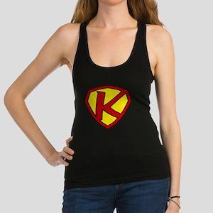 Super K Logo Costume 05 Racerback Tank Top