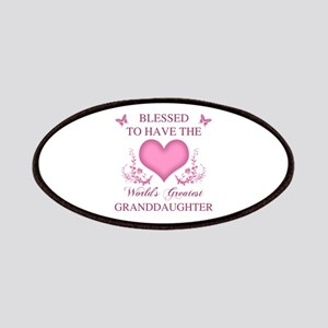 World's Greatest GrandDaughter Patch