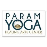 Param Yoga Sticker (Rectangle)