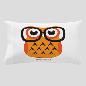 Little Nerdy Owl Pillow Case