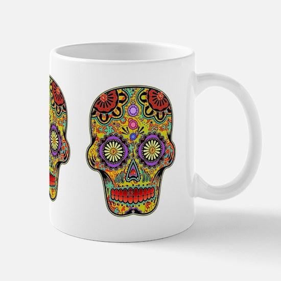 Hippie Sugar Skull Mug
