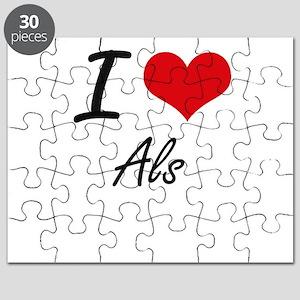 I love Als Puzzle