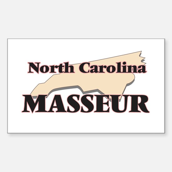 North Carolina Masseur Decal
