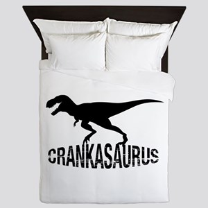 Crankasaurus Queen Duvet