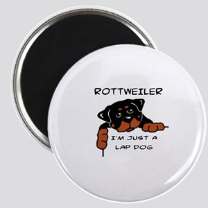 DOGS - ROTTWEILER - LAP DOG Magnet