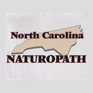 North Carolina Naturopath Throw Blanket