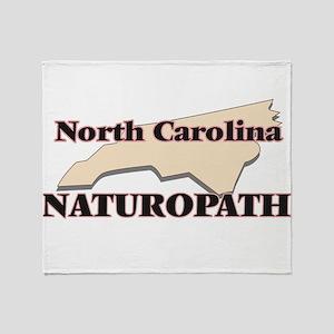 North Carolina Naturopath Throw Blanket