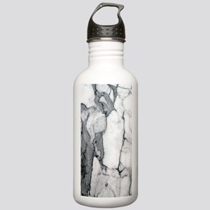 abstract chic white ma Stainless Water Bottle 1.0L