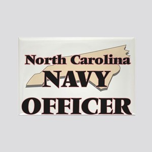 North Carolina Navy Officer Magnets