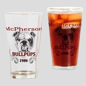 McPherson Bullpup Design 1986 Drinking Glass
