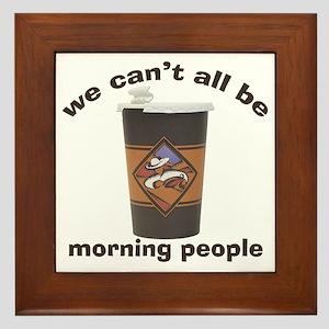 Coffee Me! Framed Tile