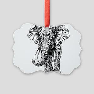 Paisley Elephant Ornament