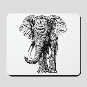 Paisley Elephant Mousepad