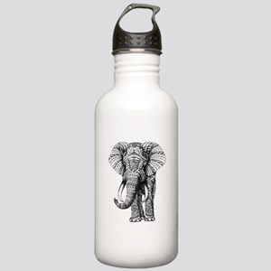 Paisley Elephant Water Bottle